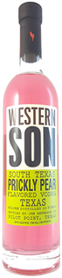 Western Son Vodka South Texas Prickly Pear 750ml